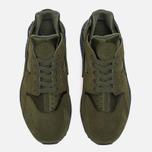Мужские кроссовки Nike Air Huarache Run SE Legion Green/Anthracite/Smoky Blue/Legion Green фото- 4