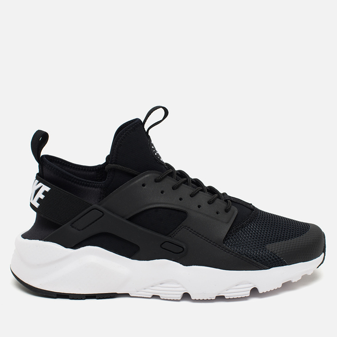 Мужские кроссовки Nike Air Huarache Run Ultra Black/White/Anthracite/White