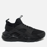 Мужские кроссовки Nike Air Huarache Run Ultra BR Triple Black фото- 0