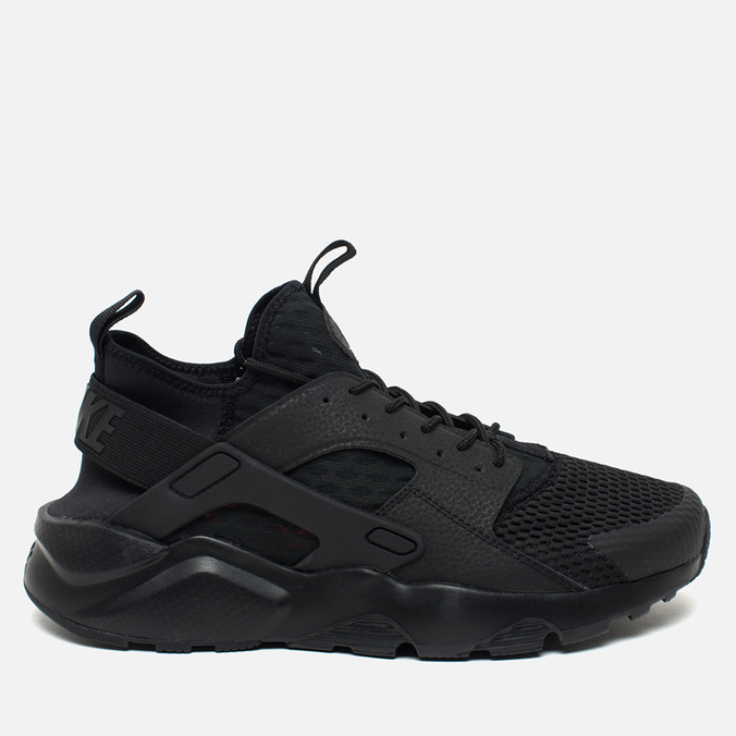 Мужские кроссовки Nike Air Huarache Run Ultra BR Triple Black