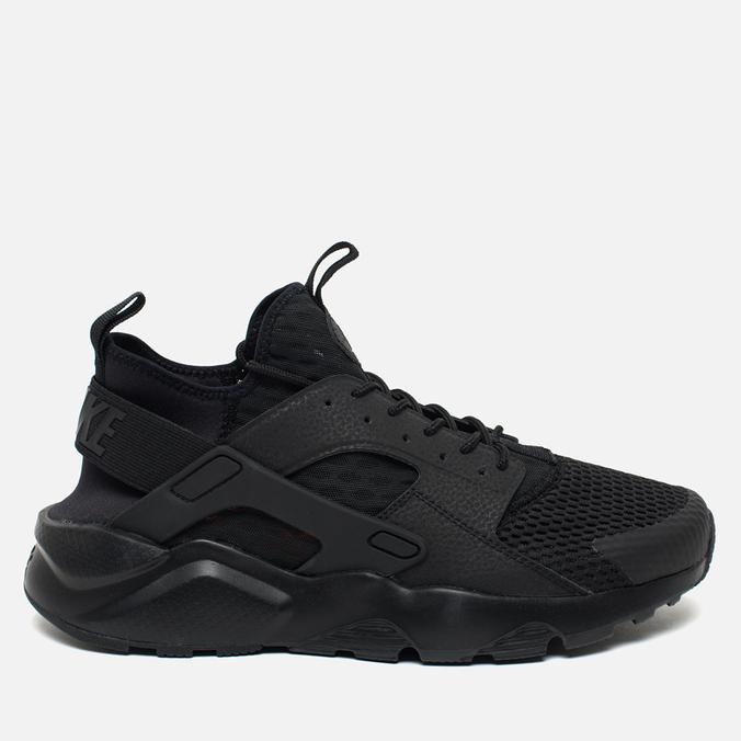 5df2230e Мужские кроссовки Nike Air Huarache Run Ultra BR Triple Black 833147-001