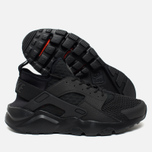 Мужские кроссовки Nike Air Huarache Run Ultra BR Triple Black фото- 2