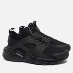 Мужские кроссовки Nike Air Huarache Run Ultra BR Triple Black фото- 1