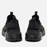 Мужские кроссовки Nike Air Huarache Run Ultra BR Triple Black фото- 3