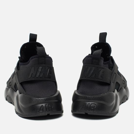 Мужские кроссовки Nike Air Huarache Run Ultra BR Triple Black