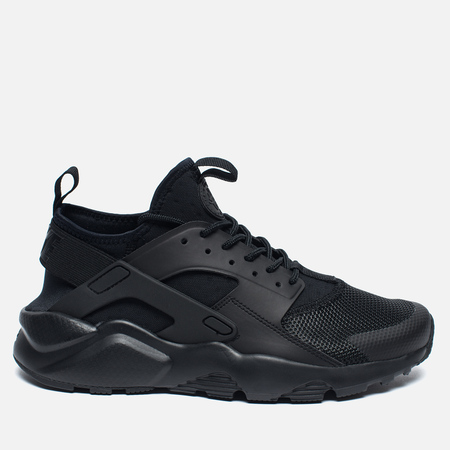 Мужские кроссовки Nike Air Huarache Run Ultra Triple Black