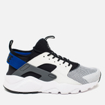 Мужские кроссовки Nike Air Huarache Run Ultra White/Blue/Black/Grey фото- 0