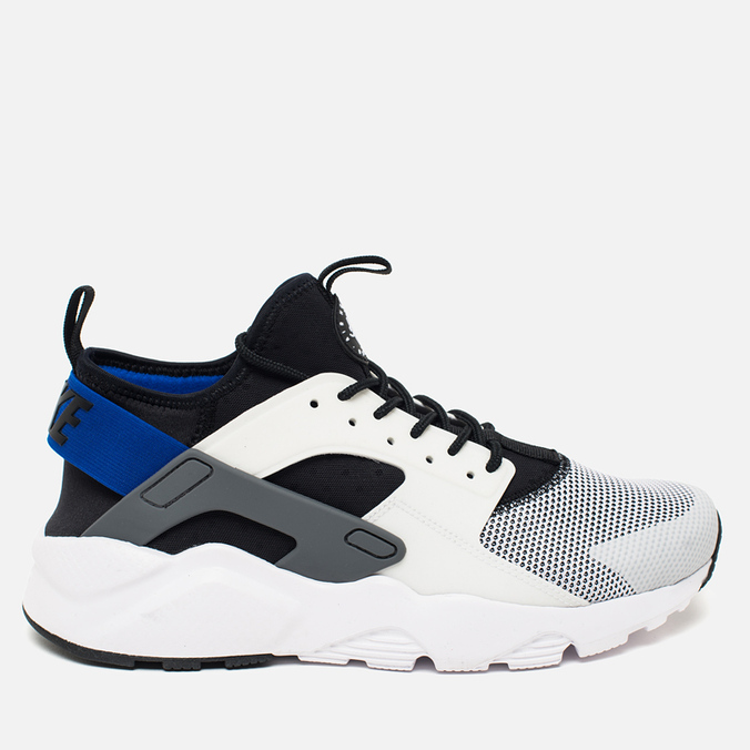 Мужские кроссовки Nike Air Huarache Run Ultra White/Blue/Black/Grey