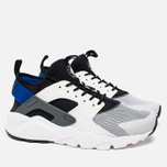 Мужские кроссовки Nike Air Huarache Run Ultra White/Blue/Black/Grey фото- 1