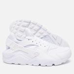 Мужские кроссовки Nike Air Huarache Triple White фото- 2