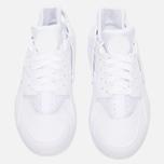 Мужские кроссовки Nike Air Huarache Triple White фото- 4
