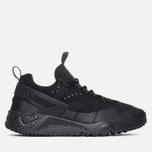 Мужские кроссовки Nike Air Huarache Utility Black/Black фото- 0