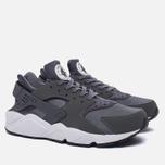 Мужские кроссовки Nike Air Huarache Dark Grey/Dark Grey/White фото- 2