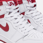 Мужские кроссовки Jordan Air Jordan 1 Retro High OG White/Metallic Red/White фото- 3