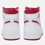 Мужские кроссовки Jordan Air Jordan 1 Retro High OG White/Metallic Red/White фото- 5