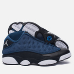 Мужские кроссовки Jordan Air Jordan 13 Low Brave Blue/Metallic Silver/Black фото- 1
