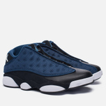 Мужские кроссовки Jordan Air Jordan 13 Low Brave Blue/Metallic Silver/Black фото- 2