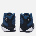 Мужские кроссовки Jordan Air Jordan 13 Low Brave Blue/Metallic Silver/Black фото- 5