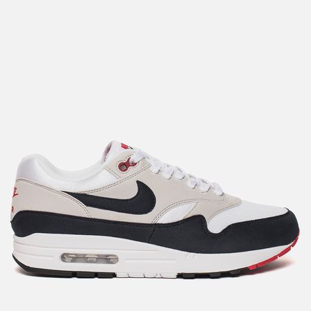 Мужские кроссовки Nike Air Max 1 Anniversary White/Dark Obsidian/Neutral Grey/Black