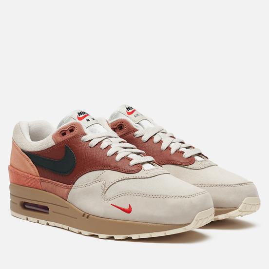 Мужские кроссовки Nike Air Max 1 City Pack Red Bark/Khaki/Terra Blush/Dusty Peach