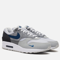 Мужские кроссовки Nike Air Max 1 City Pack Smoke Grey/Valerian Blue/Dark Smoke Grey