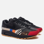 Мужские кроссовки Nike Air Max 1 Master Black/Black/University Red/International Blue фото- 2