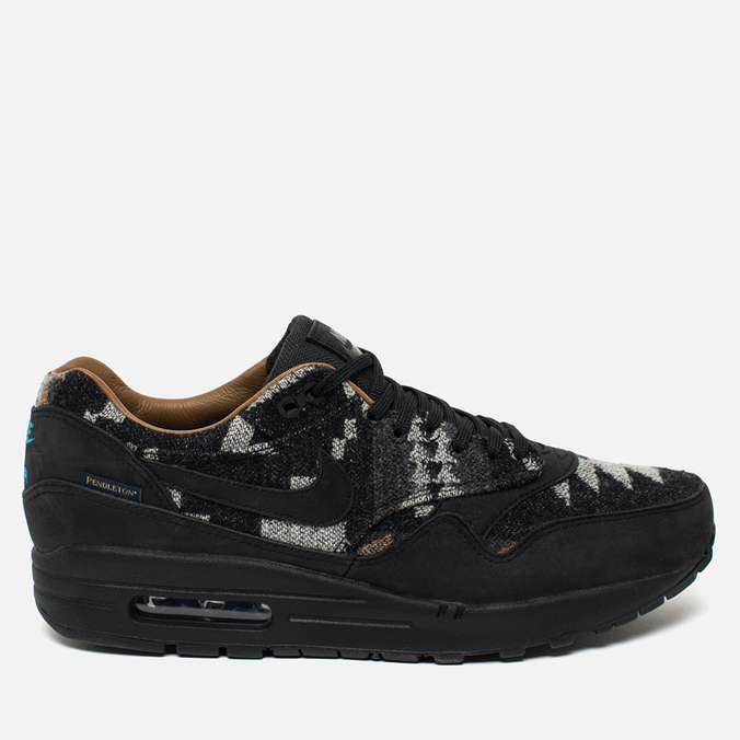 Мужские кроссовки Nike Air Max 1 Pendleton QS Black/Brown