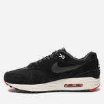 Мужские кроссовки Nike Air Max 1 Premium Black/Oil Grey/University Red/Sail фото- 1