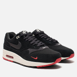 Мужские кроссовки Nike Air Max 1 Premium Black/Oil Grey/University Red/Sail фото- 2