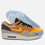 Мужские кроссовки Nike Air Max 1 Premium QS Safari Flax/Kumquat/Chestnut фото- 2