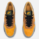 Мужские кроссовки Nike Air Max 1 Premium QS Safari Flax/Kumquat/Chestnut фото- 4