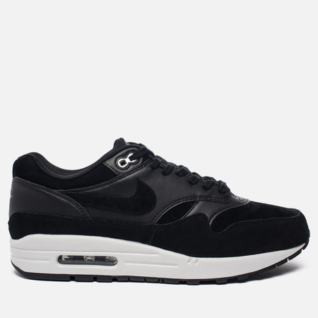 Мужские кроссовки Nike Air Max 1 Premium Rebel Skulls Black/Chrome/Off White