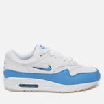 Мужские кроссовки Nike Air Max 1 Premium SC White/University Blue/University Blue фото- 0