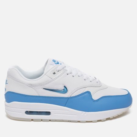 Мужские кроссовки Nike Air Max 1 Premium SC White/University Blue/University Blue
