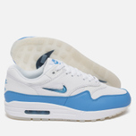 Мужские кроссовки Nike Air Max 1 Premium SC White/University Blue/University Blue фото- 1