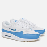 Мужские кроссовки Nike Air Max 1 Premium SC White/University Blue/University Blue фото- 2