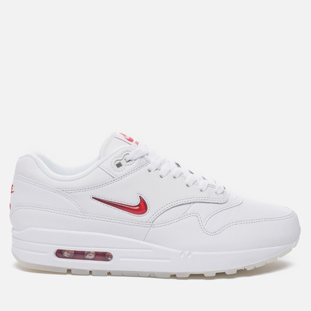 Мужские кроссовки Nike Air Max 1 Premium SC White/University Red/University Red