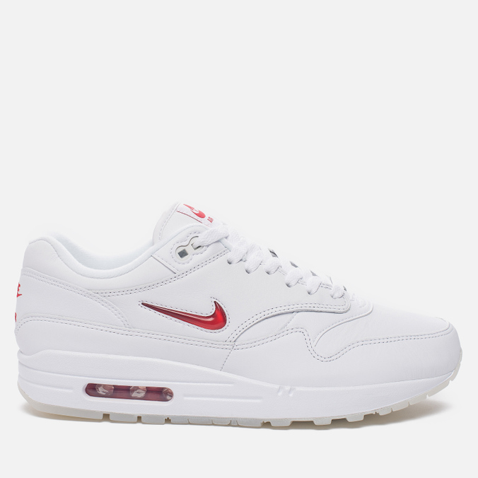 Мужские кроссовки Nike Air Max 1 Premium SC White/University Red/University Red