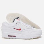 Мужские кроссовки Nike Air Max 1 Premium SC White/University Red/University Red фото- 1