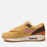 Мужские кроссовки Nike Air Max 1 Premium Wheat Gold/Rust Pink/Baroque Brown фото- 1