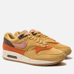 Мужские кроссовки Nike Air Max 1 Premium Wheat Gold/Rust Pink/Baroque Brown фото- 2