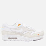 Мужские кроссовки Nike Air Max 1 Premium White/Kumquat фото- 0