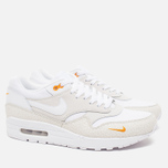Мужские кроссовки Nike Air Max 1 Premium White/Kumquat фото- 1