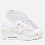 Мужские кроссовки Nike Air Max 1 Premium White/Kumquat фото- 2