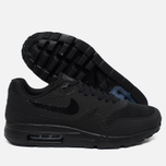 Мужские кроссовки Nike Air Max 1 Ultra Essential Triple Black фото- 2