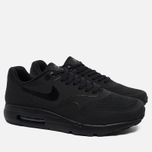 Мужские кроссовки Nike Air Max 1 Ultra Essential Triple Black фото- 1