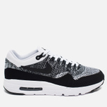 Nike Air Max 1 Ultra Flyknit Men's Sneakers Black/Grey/White photo- 0