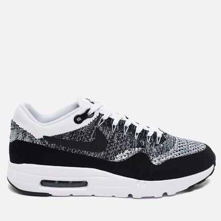 Мужские кроссовки Nike Air Max 1 Ultra Flyknit Black/Grey/White