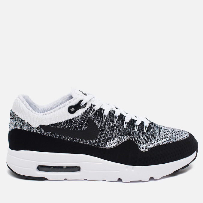 Nike Air Max 1 Ultra Flyknit Men's Sneakers Black/Grey/White