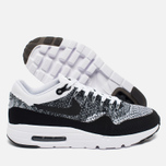 Nike Air Max 1 Ultra Flyknit Men's Sneakers Black/Grey/White photo- 2